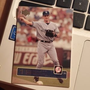 Robin ventura baseball card